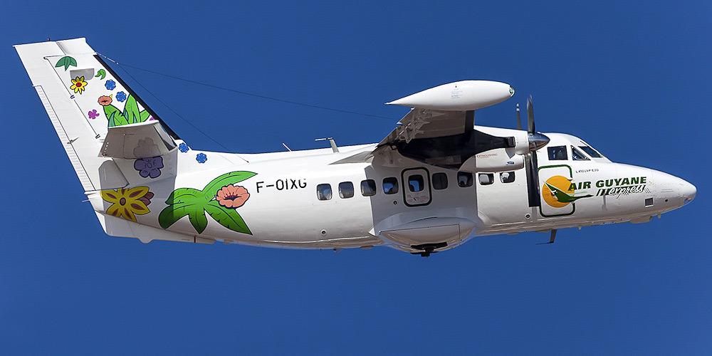 Самолет L-410 авиакомпании Air Guyane Express