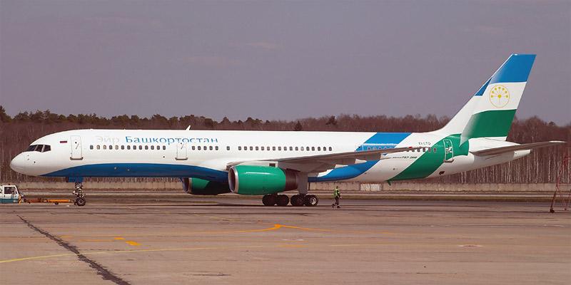 Самолет Боинг-757-200 авиакомпании Air Bashkortostan