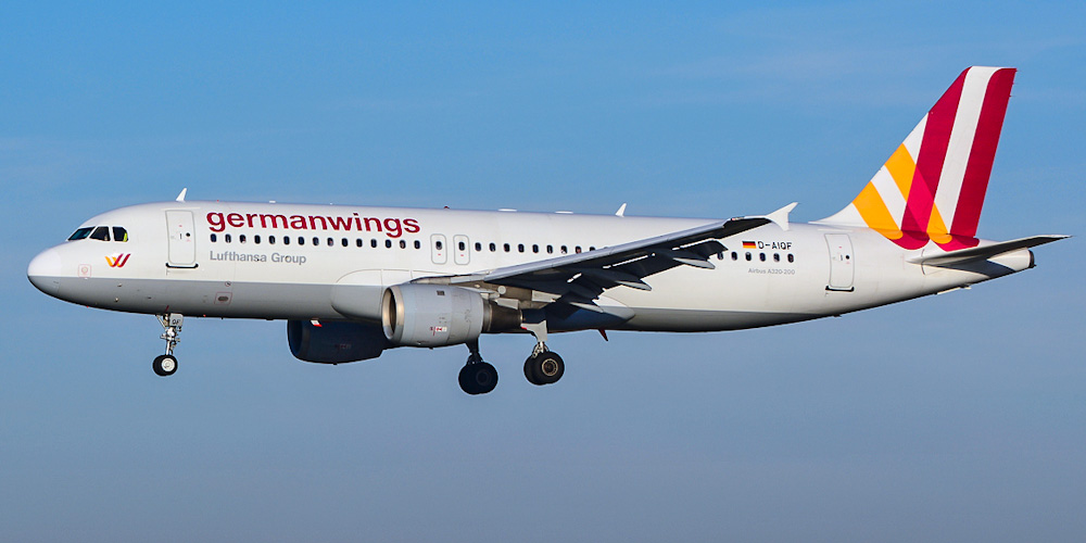 Airbus A320 авиакомпании Germanwings