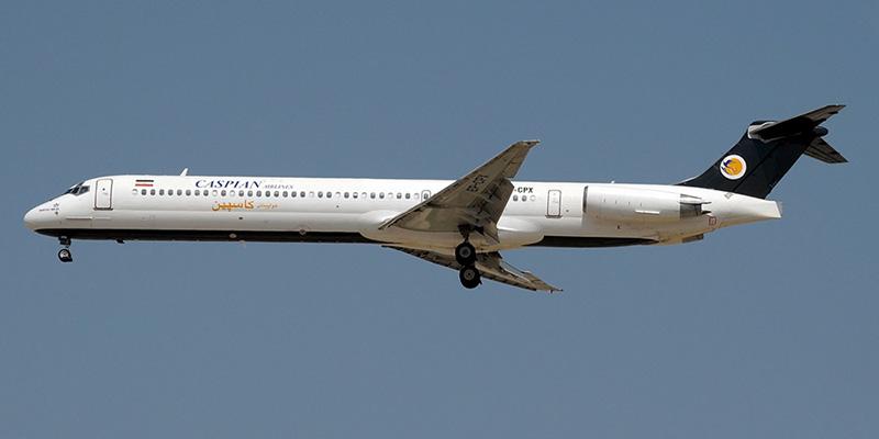 MD-80 авиакомпании Caspian Airlines