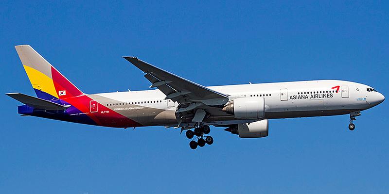 Боинг-777-200 авиакомпании Asiana Airlines
