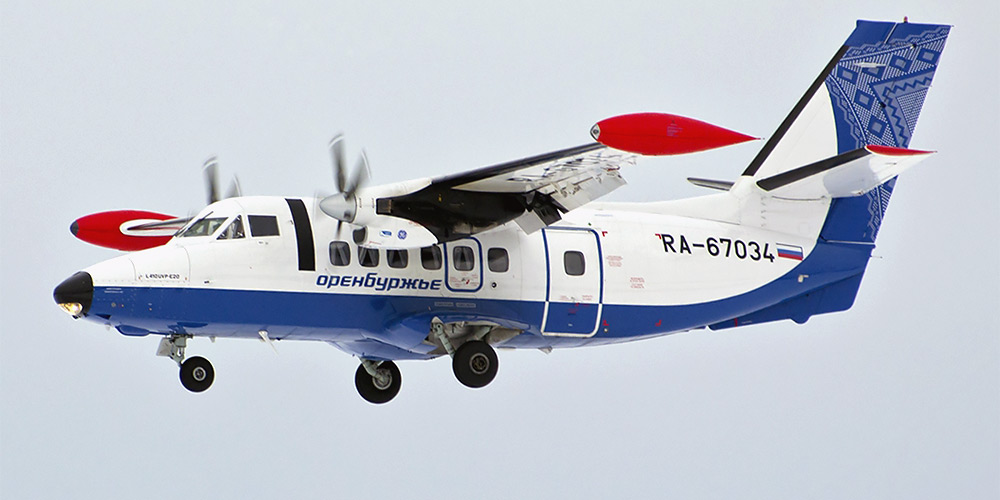 Let L-410- passenger aircraft. Photos, characteristics, reviews.